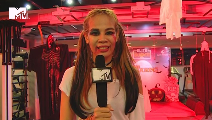 MTV NEWS - HALLOWEEN PARTY TẠI ELITE FITNESS