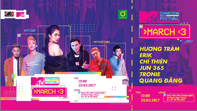 V.I.P Access: MTV Connection Tháng 3/2017