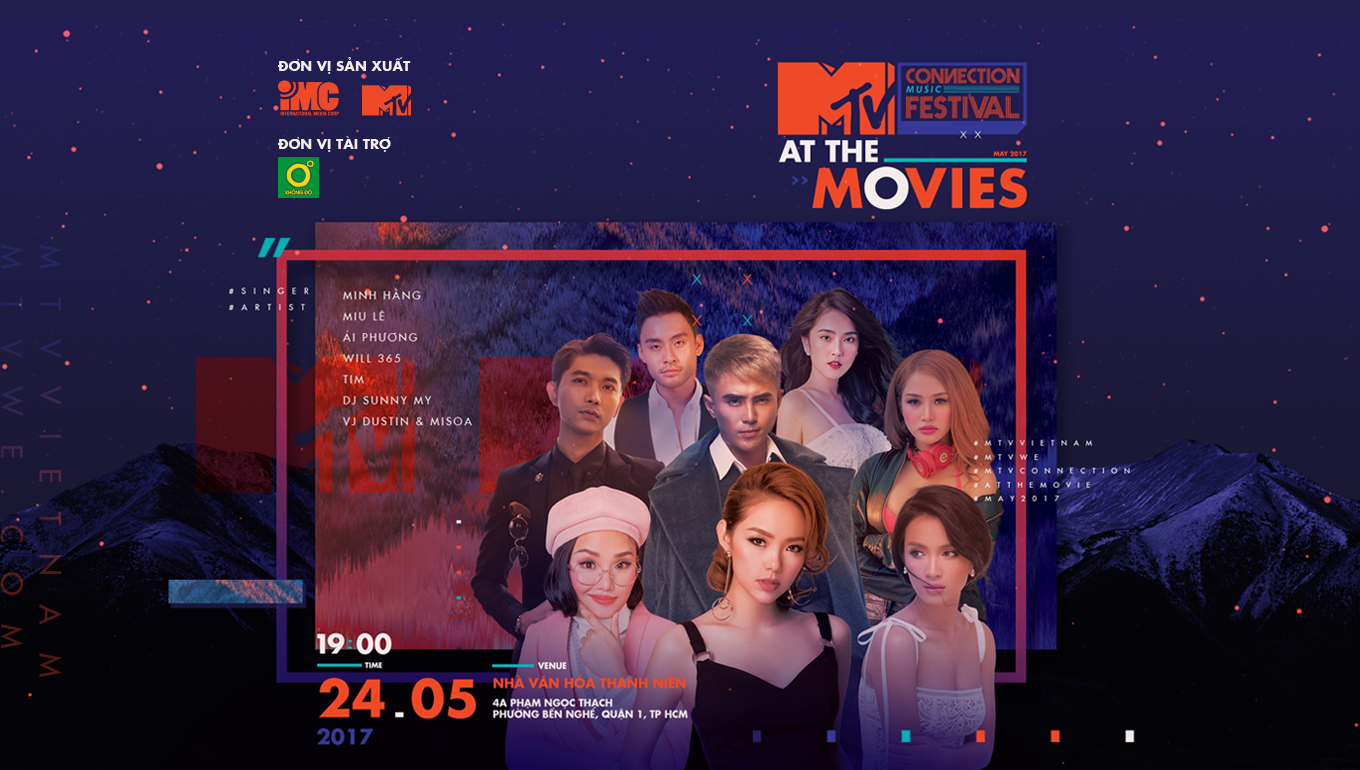 MTV Connection tháng 5/2017 - MTV At the Movies