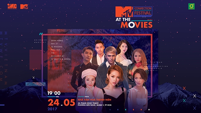 MTV Connection tháng 5/2017 - MTV At the Movies: Ái Phương (Full)