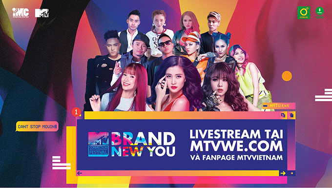 MTV CONNECTION THÁNG 6 – BRAND NEW YOU