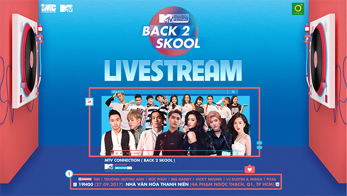 MTV CONNETION THÁNG 9 - BACK 2 SKOOL