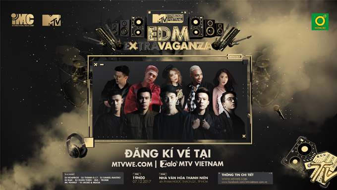 TRAILER MTV CONNECTION THÁNG 12 - EDM #EXTRAVAGANZA