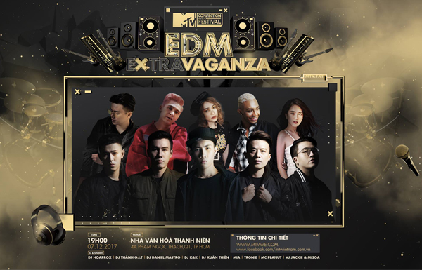MTV Connection Tháng 12 – EDM #Extravaganza